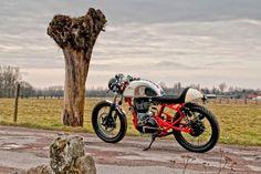 Royal Enfield cafe racer T-Factor Bikes 1