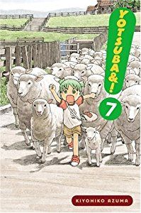 Yotsuba&!, Vol. 07 (By Kiyohiko Azuma)Mooooo...! MOOOO...! Cows are neato! Its fun pretending to be a cow! And milk comes from cows, so I bet theyre real nice too. Cos milk is super-yummy, right?! Yotsuba thinks so! And milk comes in...