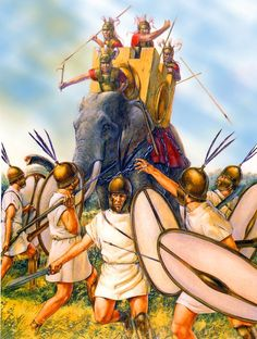 A descriptive look at the final battle of the Punic Wars Rome History, Ancient History, Ancient Rome, Ancient Greece, War Elephant, Roman Armor, Punic Wars, Greek Warrior, Roman Era
