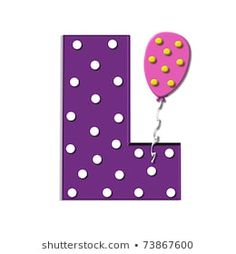 "Benzer S, in the alphabet set ""Balloon Spots"", is decorated with polka dotted balloons in multi-colors. Letter is purple with white polka dots. Görselleri, Stok Fotoğrafları ve Vektörleri - 73867705 Polka Dot Balloons, Polka Dots, Letters And Numbers, Alphabet, Coding, Lettering, Purple, Illustration, Mists"