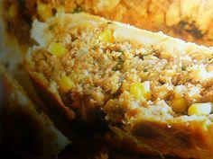 polpettone vegetariano in crosta