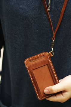 023 Card Leather Case. NT$1,280.00, via Etsy.