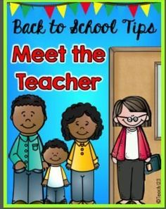 FREE Back to School Night - Meet the Teacher ideas