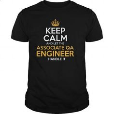 Awesome Tee For Associate Qa Engineer - #womens #mens casual shirts. I WANT THIS => https://www.sunfrog.com/LifeStyle/Awesome-Tee-For-Associate-Qa-Engineer-128370388-Black-Guys.html?60505