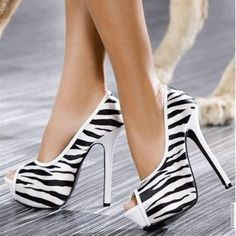 black and white stripes high heels stiletto shoes pumps women fashion pic image photo www. Zebra Heels, Shoe Boots, Shoes Heels, Stiletto Shoes, Ankle Boots, Mode Shoes, Over Boots, Dream Shoes, Party Shoes
