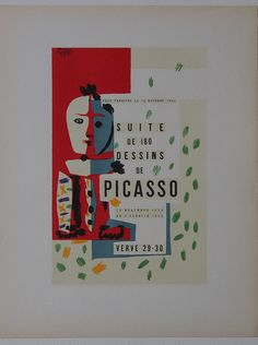 Pablo Picasso poster - Limited Edition Lithograph Print 1959