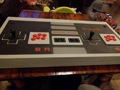 I made a custom 2-player arcade cabinet... The Pretendo!