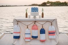 DIY Nautical Buoy Garland