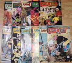 Comic Books Vintage COMICO 11 JONNY QUEST #1 through #11 1986  A2