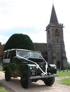 """VKX 33 86"""" as wedding car"""