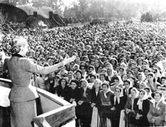 Eva turned the long-standing demands of Argentina's women into a reality. It was the first time there was support from the country's government for the feminine vote, and her role was decisive.