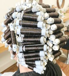 Getting A Perm, Perm Rods, Perms, Permed Hairstyles, Curlers, Hair Beauty, Hair Styles, Perm Hairstyles, Hair Plait Styles