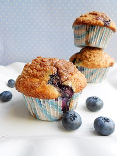 To Die For Blueberry Muffins Allrecipes.com | breads | Pinterest ...
