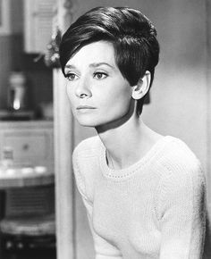Audrey Hepburn in Wait Until Dark (Terence Young, 1967). She plays a blind woman who must fight off attackers in her apartment. This was Hepburn's last film - and the last of her 5 Oscar nominations -...