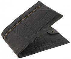 Mustard Statler Wallet - Black