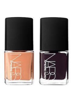 NARS Pierre Hardy Nail Polish Pairs, Ethno Run ** Check this awesome product by going to the link at the image. Navy Nail Polish, Navy Nails, Black Polish, Pierre Hardy, Nars Cosmetics, Colorful Nail Designs, Nail Polish Collection, Shoe Collection, Orange