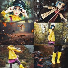 "474 Synes godt om, 9 kommentarer – Daria  (@punnzie) på Instagram: ""Coraline #aesthetics by me  Cosplay by me  Photo by @john_magert ❤️…"""
