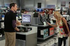 """Jim Parsons & Kaley Cuoco in Season 1 Episode 16 """"The Peanut Reaction"""" Big Bang Theory Episodes, Howard Wolowitz, Jim Parsons, Information Age, Kaley Cuoco, Bigbang, Bangs, Fan Art, In This Moment"""