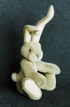 PDF Pattern for a 4 jointed miniature Bunny by BearyExtraordinary, $10.00