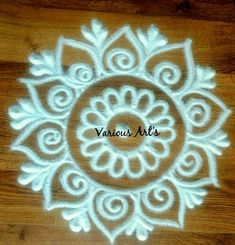 Amaze the people that you care about by sending them a beautiful Rangoli images. on this sheet, We present you with an extensive collection of rangoli designs. Easy Rangoli Designs Diwali, Rangoli Simple, Simple Rangoli Designs Images, Rangoli Designs Latest, Rangoli Designs Flower, Free Hand Rangoli Design, Rangoli Border Designs, Small Rangoli Design, Rangoli Patterns