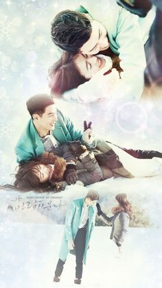 That Winter The Wind Blows. Couldn't love them any more So happy to watch this, though the entire episodes i cried. Hahahaha
