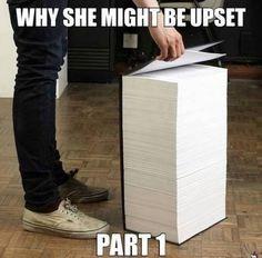 Girlfriend problems. 'Part 1'!!!! Lmao!!!!