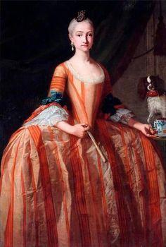 1758-1759 Infanta Maria Josefa de Borbón