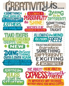 What is your favorite #definition of #creativity?
