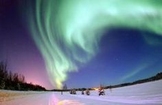 watch auroras borealis in Nome, Alaska... Visit Alaska in General would be amazing!