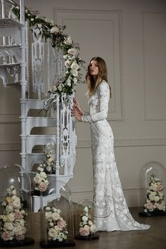 Victorian Lace Gown from Needle and Thread wedding dresses 2016 Autumn Winter Bridal Collection - Long sleeved, victorian lace gown…
