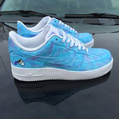 best website 2b307 f6cf7 Custom Nike Air Force 1 Low Dirty Sprite 2 by 2nicecustoms on Etsy Nike Air  Force
