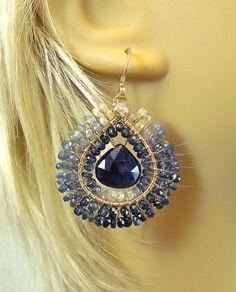 Sapphire Desire by twotightlywound on Etsy, $210.00
