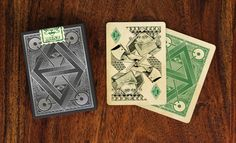 Four Points #playingcards