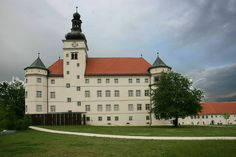 Castle Hartheim, Linz, Austria (Justice at Dachau by Joshua Greene)