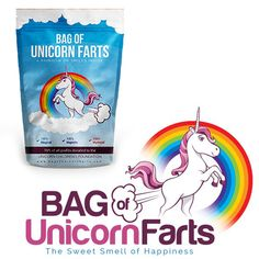 Sugar is sweet, lemons are tart.  We love you more than a Bag of Unicorn Farts!