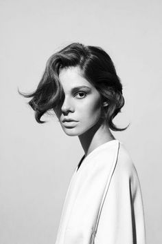 A totally sleek, fun, and absolutely chic short hairstyle for summer. #hair