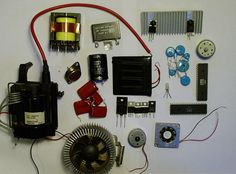 The cost of buying electronic parts for our projects from Radio Shack or Maplin are quite expensive now days. And most of us have a limited budget in buying. Basic Electronic Circuits, New Electronic Gadgets, Electronic Parts, Electronic Engineering, Electronics Projects, Cool Electronics, Electronics Basics, Electronics Components, Arduino