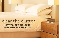 Healing Lifestyles & Spas - Get on the De-Clutter Path! - clutter makes me crazy! Getting Rid Of Clutter, Getting Organized, Organizing Your Home, Organising, Organizing Tips, Life Organization, Organisation Ideas, Household Organization, Neat And Tidy