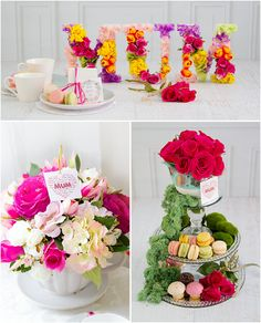 Mother's Day Centrepiece Ideas
