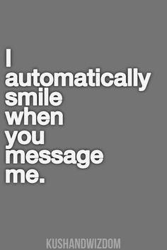 BIG smile....like I'm a crazy person ;)