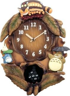 Citizen Totoro My Neighbor Wall Clock Miyazaki Hayao Ghibli studio