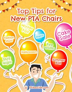 Top tips for you if you've just taken over as PTA Chairperson or PTO President!