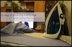 Doing the housework might be boring but it's a substantial amount of time you could you use for language practise. Love Languages, Learning, Blog, Deutsch, Studying, Blogging, Teaching, Onderwijs