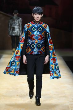 Male Fashion Trends: CC IKATS by Yingfen Cheng Spring-Summer 2017 - Mercedes-Benz Fashion Week China