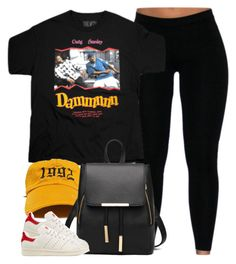"""""""1 3 7 4. Friday"""" by cheerstostyle ❤ liked on Polyvore featuring adidas Originals"""