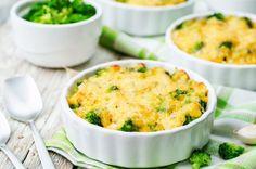 Brokolica varená v pare zapečená so syrom
