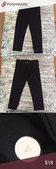 Lululemon capri pants Black lulu pants lululemon athletica Pants Capris