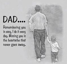 Remembering Dad- Priceless                            (This is so true! I miss my dad every day.)