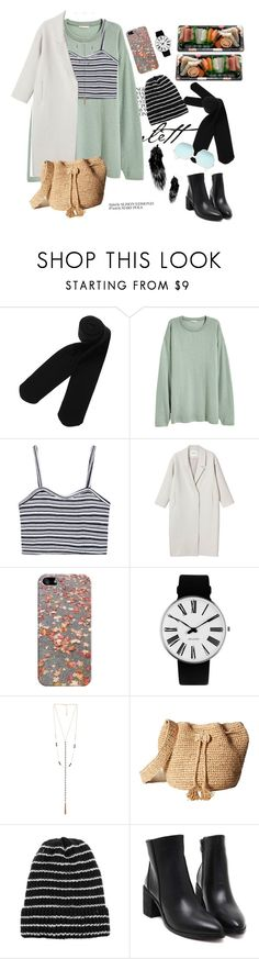 """Run all night( in the zombie land)"" by ngocdinh ❤ liked on Polyvore featuring Monki, Casetify, Rosendahl, 8 Other Reasons, Hat Attack, Jura and Quay"