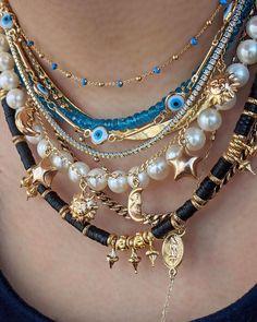 Nail Jewelry, Funky Jewelry, Hippie Jewelry, Trendy Jewelry, Cute Jewelry, Beaded Jewelry, Jewelry Accessories, Jewelry Necklaces, Fashion Jewelry